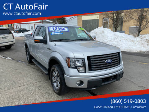 2012 Ford F-150 for sale at CT AutoFair in West Hartford CT