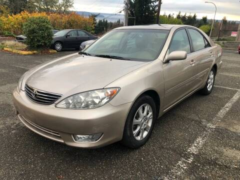 2005 Toyota Camry for sale at KARMA AUTO SALES in Federal Way WA