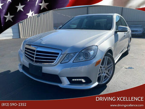 2010 Mercedes-Benz E-Class for sale at Driving Xcellence in Jeffersonville IN
