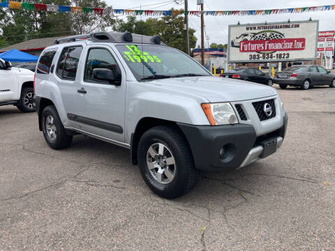 2012 Nissan Xterra for sale at FUTURES FINANCING INC. in Denver CO