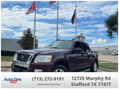 2007 Ford Explorer Sport Trac for sale at Auto One USA in Stafford TX