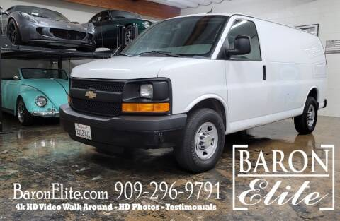 2014 Chevrolet Express Cargo for sale at Baron Elite in Upland CA