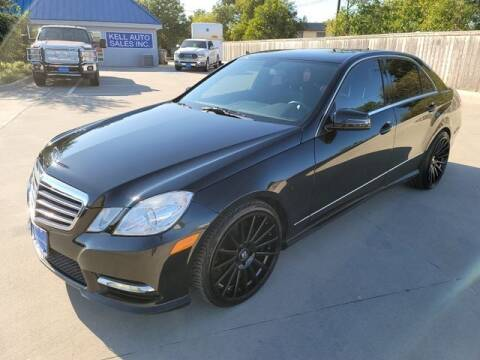 2013 Mercedes-Benz E-Class for sale at Kell Auto Sales, Inc - Grace Street in Wichita Falls TX