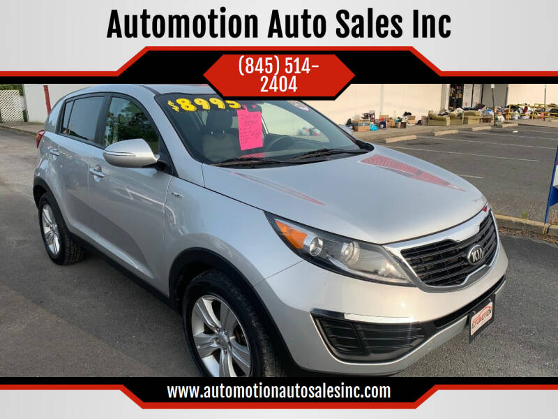 2013 Kia Sportage for sale at Automotion Auto Sales Inc in Kingston NY
