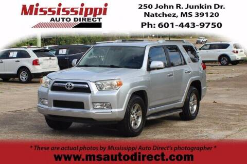 2012 Toyota 4Runner for sale at Auto Group South - Mississippi Auto Direct in Natchez MS
