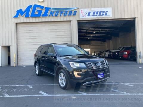 2016 Ford Explorer for sale at MGI Motors in Sacramento CA