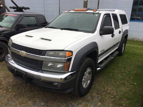 2004 Chevrolet Colorado for sale at LAURINBURG AUTO SALES in Laurinburg NC