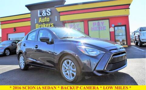 2016 Scion iA for sale at L & S AUTO BROKERS in Fredericksburg VA