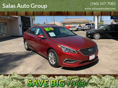 2016 Hyundai Sonata for sale at Salas Auto Group in Indio CA