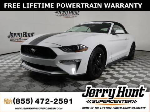 2019 Ford Mustang for sale at Jerry Hunt Supercenter in Lexington NC