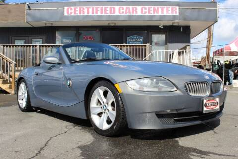 2007 BMW Z4 for sale at CERTIFIED CAR CENTER in Fairfax VA