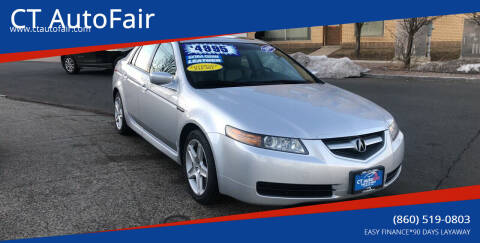 2005 Acura TL for sale at CT AutoFair in West Hartford CT