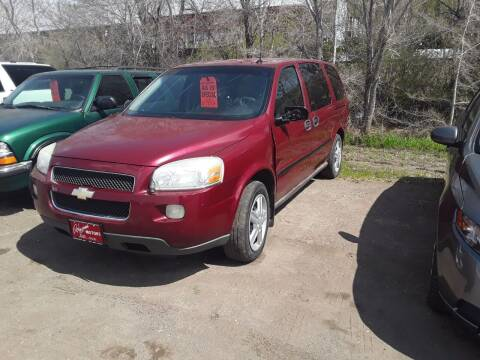 2005 Chevrolet Uplander for sale at BARNES AUTO SALES in Mandan ND
