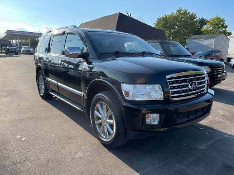 2008 Infiniti QX56 for sale at Best Choice Auto Sales in Lexington KY