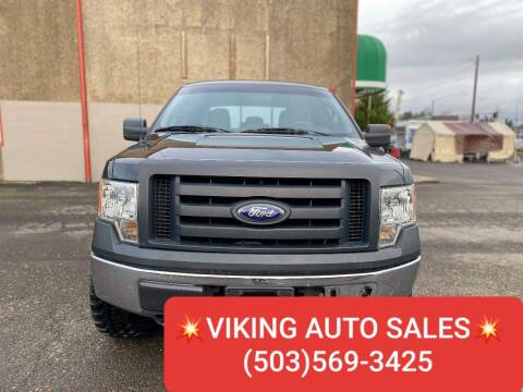 2012 Ford F-150 for sale at VIking Auto Sales LLC in Salem OR