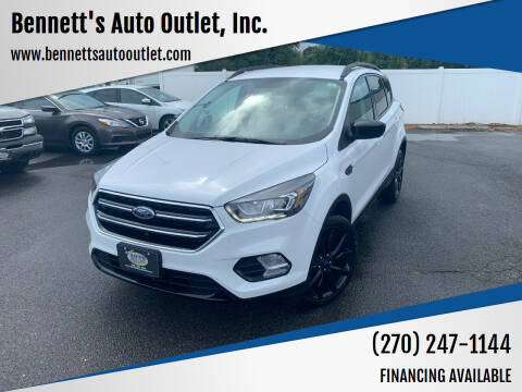 2017 Ford Escape for sale at Bennett's Auto Outlet, Inc. in Mayfield KY