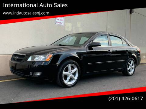 2007 Hyundai Sonata for sale at International Auto Sales in Hasbrouck Heights NJ