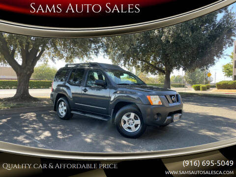 2008 Nissan Xterra for sale at Sams Auto Sales in North Highlands CA