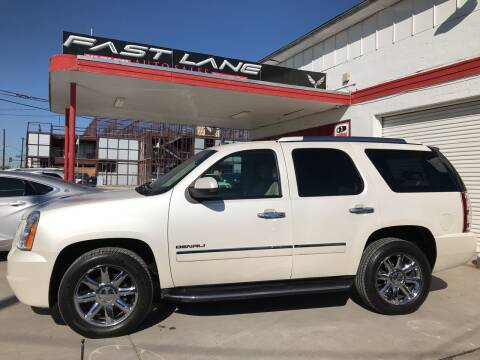 2011 GMC Yukon for sale at FAST LANE AUTO SALES in San Antonio TX