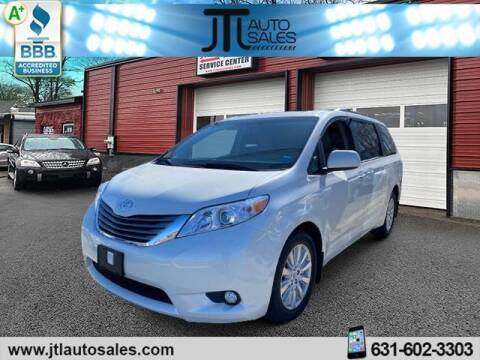 2017 Toyota Sienna for sale at JTL Auto Inc in Selden NY