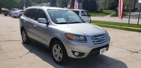 2010 Hyundai Santa Fe for sale at Stach Auto in Janesville WI