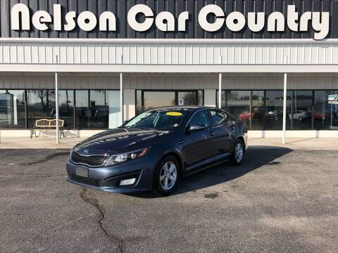 2015 Kia Optima for sale at Nelson Car Country in Bixby OK
