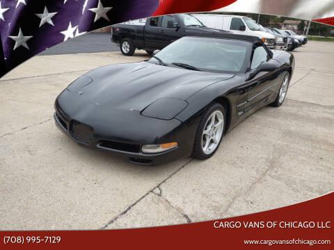 2000 Chevrolet Corvette for sale at Cargo Vans of Chicago LLC in Mokena IL