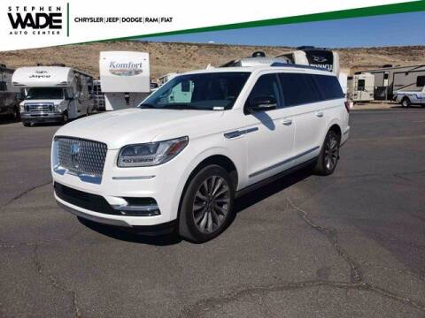 2020 Lincoln Navigator L for sale at Stephen Wade Pre-Owned Supercenter in Saint George UT