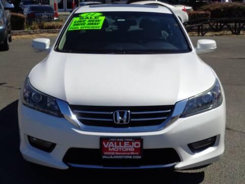 2014 Honda Accord for sale at Vallejo Motors in Vallejo CA