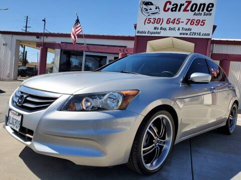 2012 Honda Accord for sale at CarZone in Marysville CA