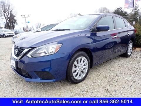 2019 Nissan Sentra for sale at Autotec Auto Sales in Vineland NJ