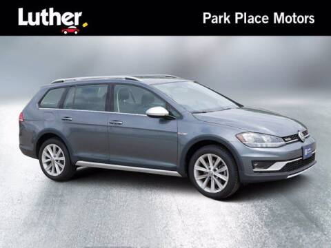 2019 Volkswagen Golf Alltrack for sale at Park Place Motor Cars in Rochester MN