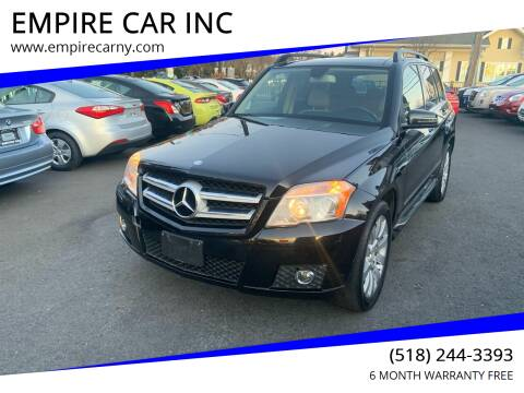 2010 Mercedes-Benz GLK for sale at EMPIRE CAR INC in Troy NY
