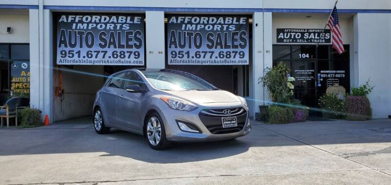 2013 Hyundai Elantra GT for sale at Affordable Imports Auto Sales in Murrieta CA