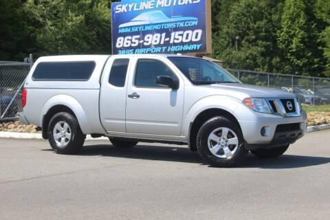 2012 Nissan Frontier for sale at Skyline Motors in Louisville TN