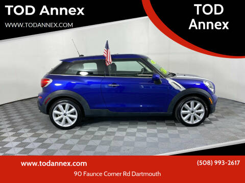 2016 MINI Paceman for sale at TOD Annex in North Dartmouth MA