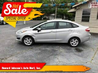 2015 Ford Fiesta for sale at Howard Johnson's  Auto Mart, Inc. in Hot Springs AR