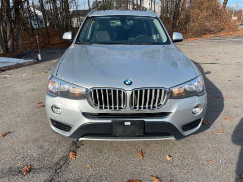 2017 BMW X3 for sale at USA Auto Sales in Leominster MA