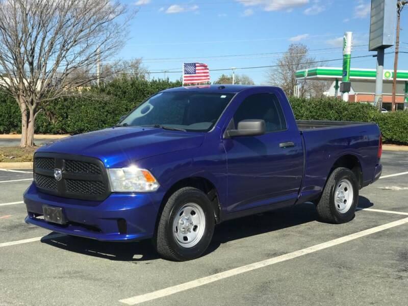 2014 RAM Ram Pickup 1500 for sale at RUSH AUTO SALES in Burlington NC