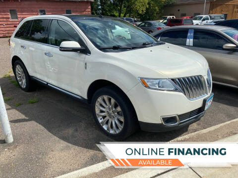 2013 Lincoln MKX for sale at Sunrise Auto Sales in Stacy MN