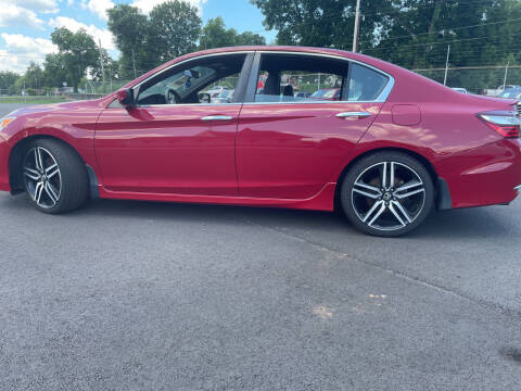 2017 Honda Accord for sale at Beckham's Used Cars in Milledgeville GA
