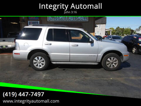 2010 Mercury Mountaineer for sale at Integrity Automall in Tiffin OH
