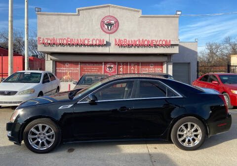 2010 Cadillac CTS for sale at Eazy Auto Finance in Dallas TX
