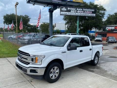 2018 Ford F-150 for sale at Prime Auto Solutions in Orlando FL