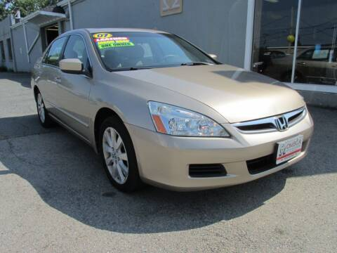 2007 Honda Accord for sale at Omega Auto & Truck CTR INC in Salem MA