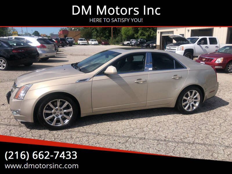 2008 Cadillac CTS for sale at DM Motors Inc in Maple Heights OH