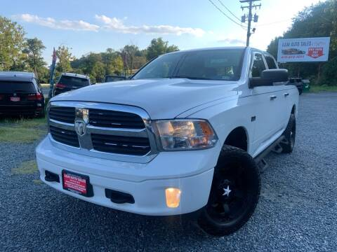 2014 RAM Ram Pickup 1500 for sale at A&M Auto Sales in Edgewood MD