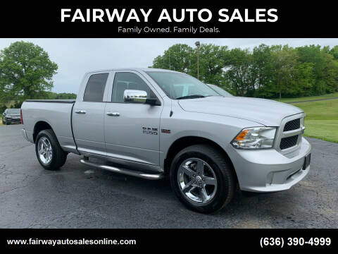 2014 RAM Ram Pickup 1500 for sale at FAIRWAY AUTO SALES in Washington MO