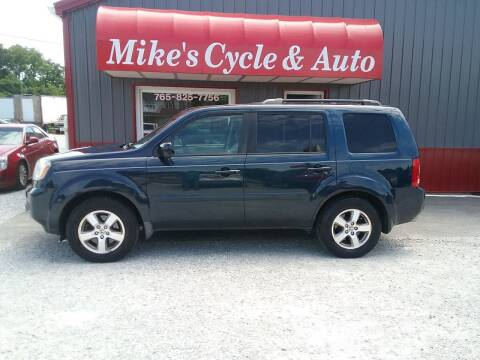 2010 Honda Pilot for sale at MIKE'S CYCLE & AUTO in Connersville IN