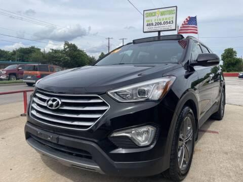 2014 Hyundai Santa Fe for sale at Shock Motors in Garland TX